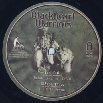 Fret Not; Gideon Times / Jegnd Melodica Dub; Menelik II Dubwise