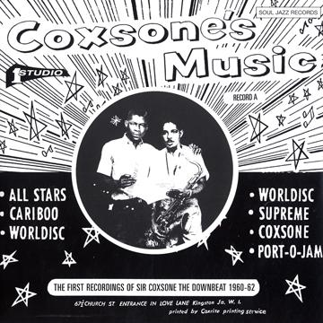 Coxson's Music: First Recordings Of Sir Coxone The Downbeat 1960-62 Record A (With Download Code) (2LP)