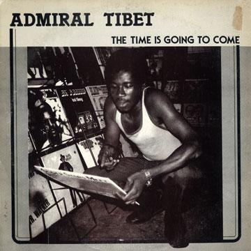 Admiral Tibet - Time Is Going To Come (Jacket Damage) (LP)