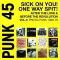 Various - Punk 45 Volume 3: Proto Punk 1969-76 (2LP)