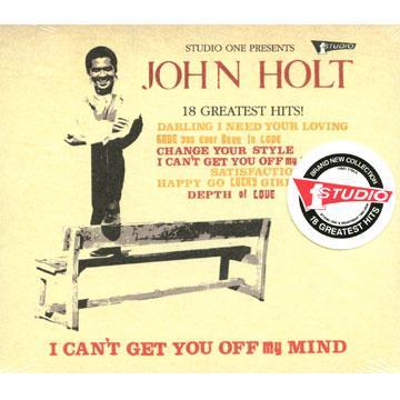 John Holt - Greatest Hits (18 Tracks) (Heartbeat US/Studio One)