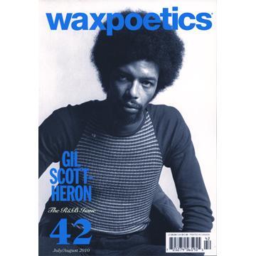 Magazine - Waxpoetics US No. 42: R&B Issue (Gil Scott-Heron/Erykah Badu)  (Books)