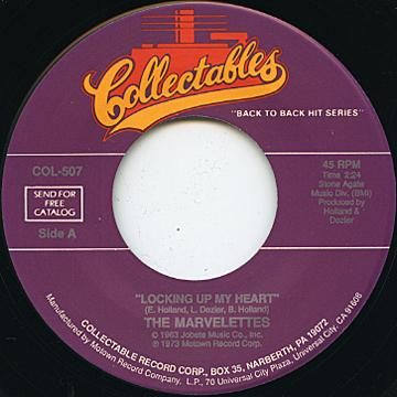 Marvelettes - Locking Up My Heart (7