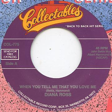 Diana Ross - When You Tell Me That You Love Me (7