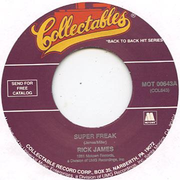 Rick James - Super Freak (7