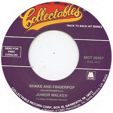 Junior Walker - Shake And Fingerpop (7