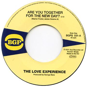 Are You Together For The New Day? / Moving Woman