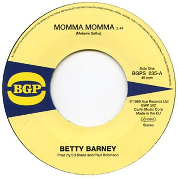Betty Barney - Momma Momma (7