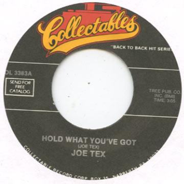 Hold What You've Got / Show Me