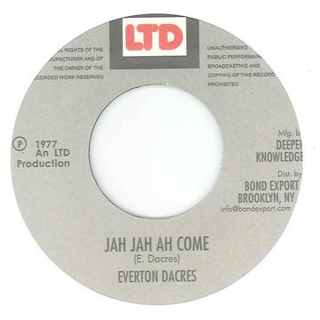 Jah Jah Ah Come / Jah Jah Dub