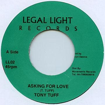 Tony Tuff - Asking For Love (7