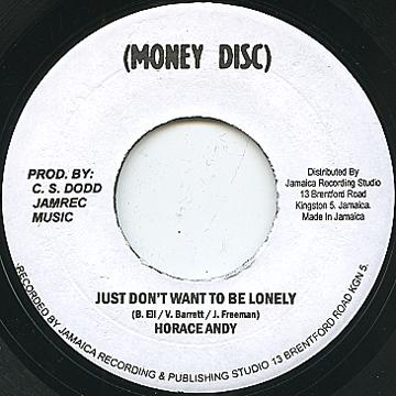 Horace Andy Just Dont Want To Be Lonely Original Stamper 7