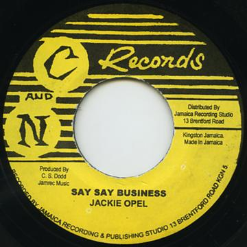 Say Say Business (Original Stamper) / People's Bussiness