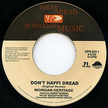 Don't Haffi Dread (Original) / Don't Haffi Dread (Acoustic)
