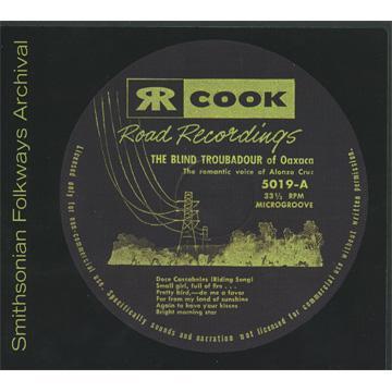 Blind Troubador of Oaxaca (COOK05019) (CD-R)