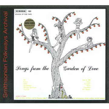 Songs from the Garden Of Love (COOK01281) (CD-R)