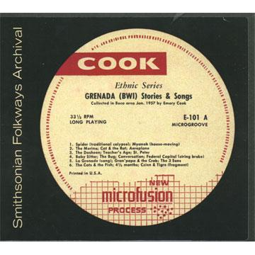 Grenada Stories and Songs (COOK00101) (CD-R)