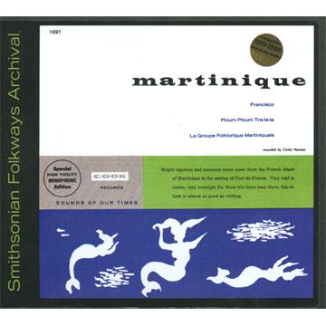 Un Ti Bo and other pleasures from Martinique (COOK01021) (CD-R)