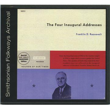 Four Inaugural Addresses (COOK5051) (CD-R)