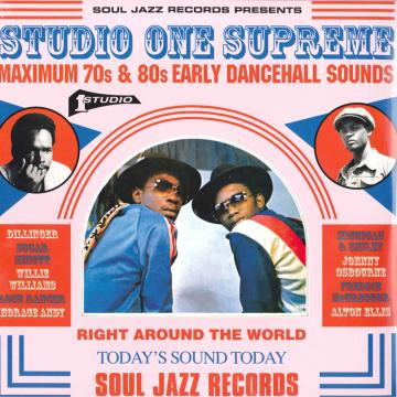 Studio One Supreme: Maximum 70s & 80s Early Dancehall Sounds (3LP)