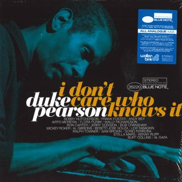 I Don't Care Who Knows It (2LP)