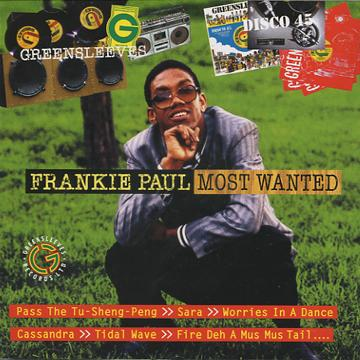 Frankie Paul - Most Wanted (CD)